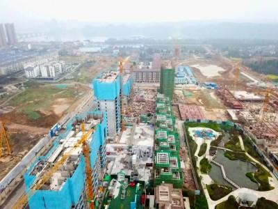 桃源碧桂园2020年03月高空实景航拍