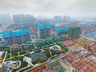 桃源碧桂园2020年3月高空全景